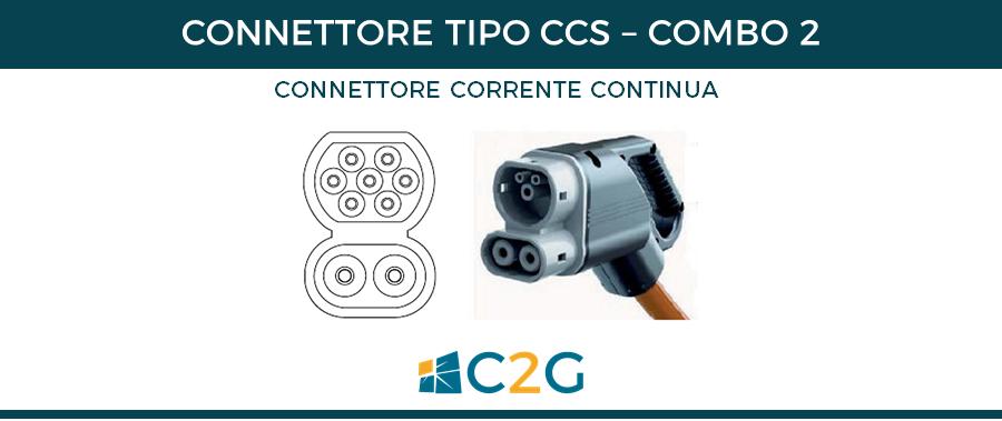 Connettore CCS Combo 2 - connettori ricarica auto elettriche