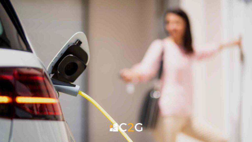 Ricarica auto elettrica a casa Lecco, Bergamo, Monza e Brianza - C2G Solar