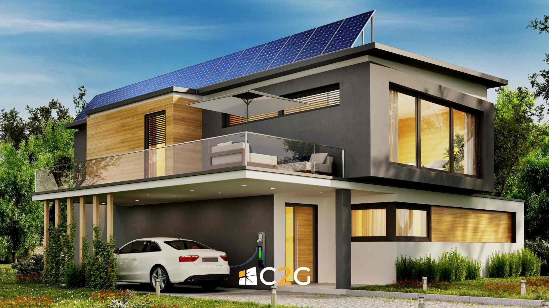 Ricarica auto elettrica a casa - C2G Solar