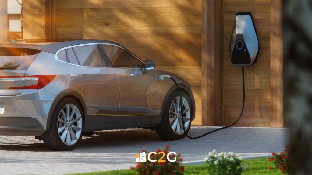 Ricarica auto elettrica a casa a Lecco, Bergamo, Monza e Brianza - C2G Solar