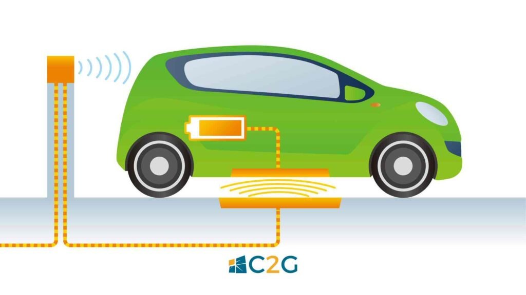 Ricarica wireless auto elettriche - C2G Solar