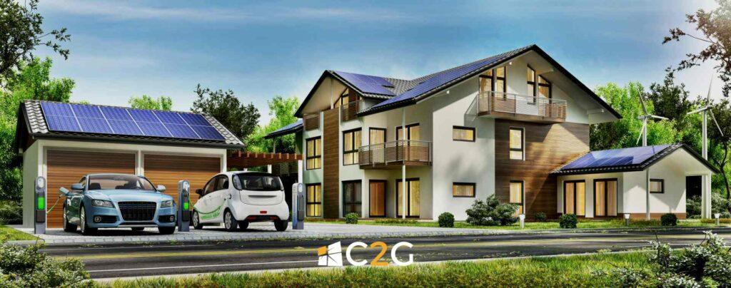 Risparmiare con fotovoltaico e ricarica auto elettriche - C2G Solar