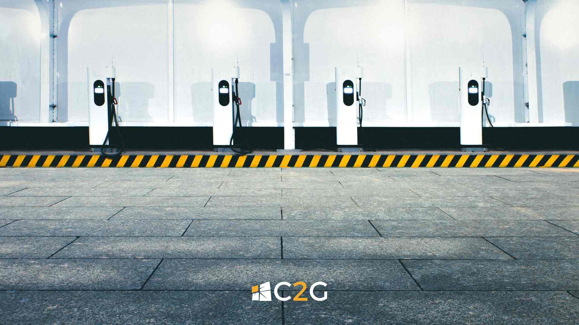 Ricarica auto parcheggio aziendale Lecco , Bergamo, Monza e Brianza - C2G Solar