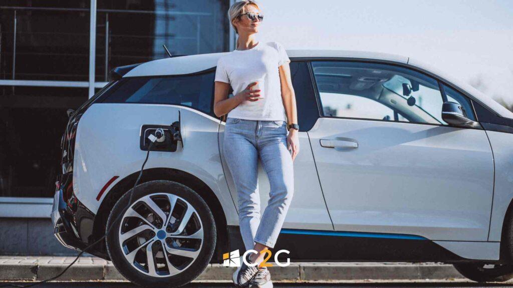 Ricarica auto elettrica centro commerciale - Lecco, Bergamo, Monza e Brianza - C2G Solar