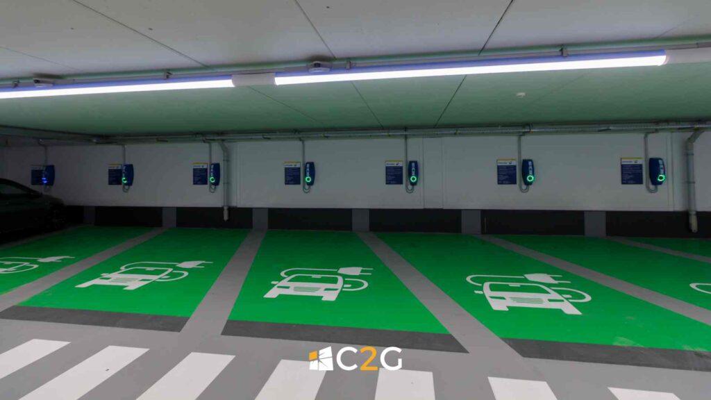 Ricarica auto elettriche hotel alberghi BeB - C2G Solar