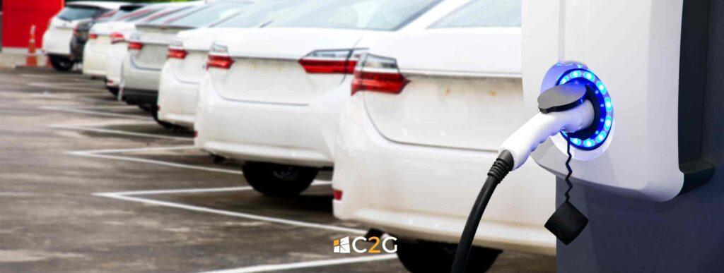 Passare a flotta auto elettrica - C2G Solar