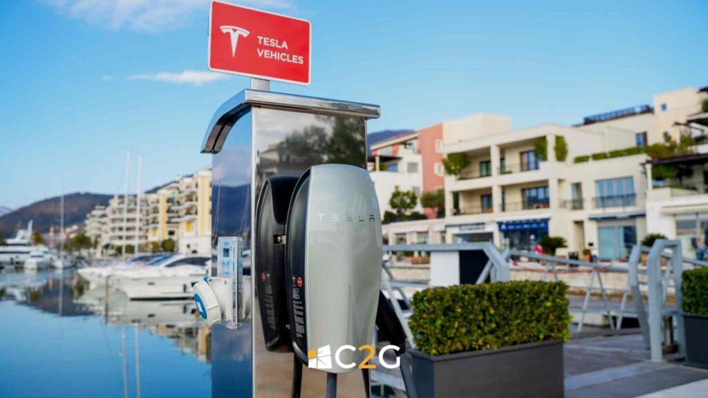 Ricarica auto elettriche hotel, alberghi, BeB - C2G Solar